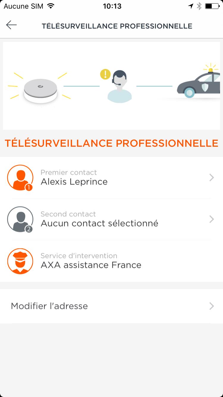 Abonnement Myfox telesurveillance